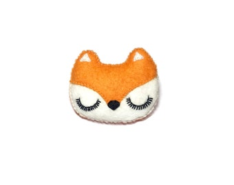 Fox Brooch - Fox Pin - Woodland  Brooch - Woodland Jewellery - Fox Jewelry - Fox Pin - Cute Fox Accessories