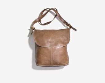 Coach Bag / Coach Bucket Bag / Brown Leather Coach Purse / Coach Whitney Bag