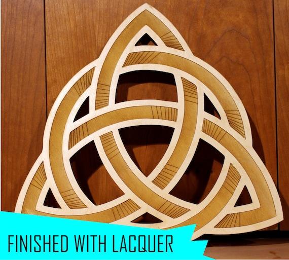 Celtic Knot, Wall Art, Warm Pot Trivet, Love knot Pattern T6, Laser Engraved, Paul Szewc, Masterpiece Laser