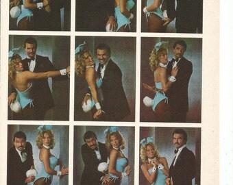 1979 Burt Reynolds Playboy Photo Shoot Outtakes Bunny Playmate Gig Gangel Celebrity 70s Idol Superstar Actor Wall Art Decor