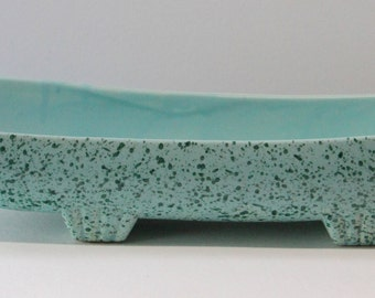 Vintage Stanford Pottery Company, Sebring, Ohio, Planter or Console Bowl #221-B