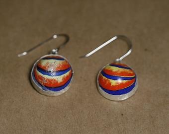 Orangina Cap Earrings