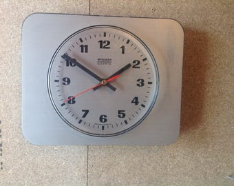 Vintage Staiger Wall Clock - German Clock -Original  Battery Operated Wall Clock
