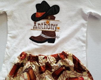 Cowboy Birthday Outfit, First Rodeo, Rodeo Shirt, Western Birthday Outfit, Personalized Cowboy Birthday Shirt, Western Cowboy Shirt, Rodeo