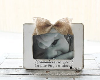 will you be my godmother gift godmothers are special picture frame baptism gift for godmother godfather frame customized godparents gift