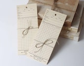 Vintage Department Store Clothing Tags, Paper Ephemera, Craft, Assemblage, Gift Tags