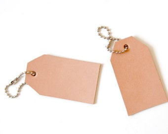 Leather Gift Tag / Holiday / Gifting / Birthday