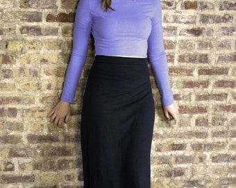 Maxi Skirt - Hemp and Organic Cotton Stretch Jersey