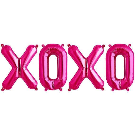XOXO Mylar Balloon by Northstar Balloons