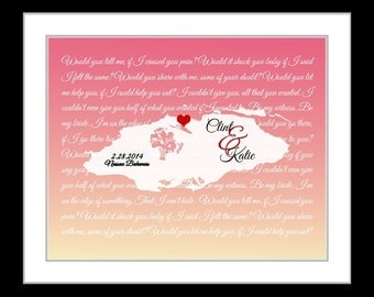 Any map, anniversary gifts for women, her. wife, wedding gifts, him, bahamas wall art, song lyric, caribbean art map gift usvi travel