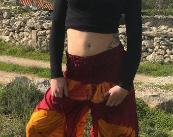 Harem Pants,Festival Pants,Afghani Pants,Buggy Trousers,Burning Man Pants,Fairy Faerie Pants,Yoga Pants,Tribal Hippie Trousers,Boho Pants