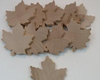 10 wood, maple leaves