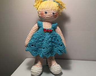 Custom Hand Crocheted Baby Dolls