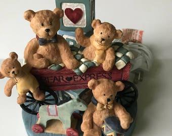 Vintage Teddy Bear, Nursery Lamp, Kids Room, Bear Lamp, Teddy Bear, Kids Lamp, Baby Lamp