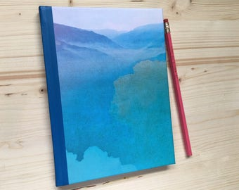 Customizable_Hard Cover Mountain Journal