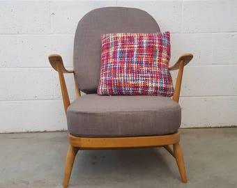 Mid Century Blonde 1960s Ercol 203 Armchair