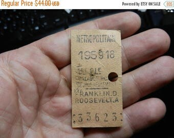 Summer Sale Vintage Franklin D Roosevelt Speech Ticket Metropolitain