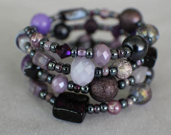 Michelle- Coil Bracelet