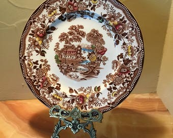 Alfred Meakin Tonquin Dinner Plate, Staffordshire England