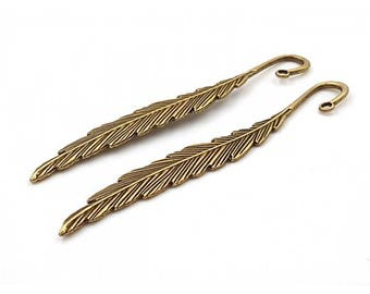 Brand 5 - Page feather bronze 12cm