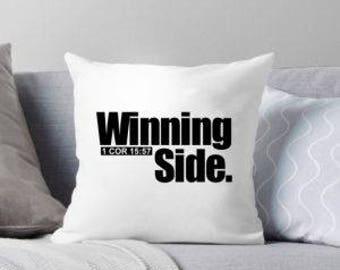 Pillow Winning Side
