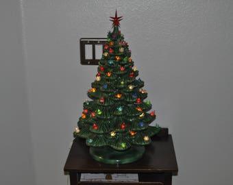 Large Beautiful Ceramic Christmas Tree