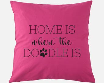 Throw Pillow Home Is Where The Doodle Is : Printable Art Home Sweet Home Floral Print Gallery