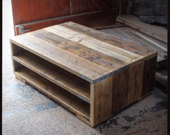 MARIBEL II | Reclaimed Wood Coffee Table - Handmade & Bespoke