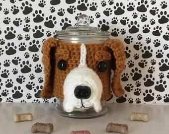 Beagle Gifts, Beagle Christmas, Beagle Owner Gift, Dog Treat Jar, I Love Beagles, Beagle Custom, Best Dog Ever, Beagle Rescue, Dog Mom Gift