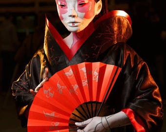 Geisha's mask Cosplay Ghost in the shell
