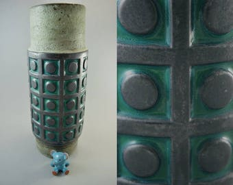 Vintage vase made by Scheurich / 246 40 | West German Pottery | 60s