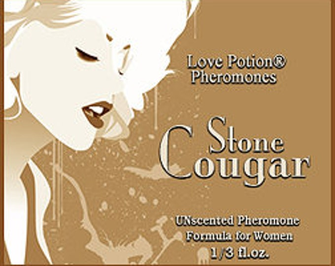 Stone Cougar - UNscented Pheromone Blend for Women- Love Potion Magickal Perfumerie
