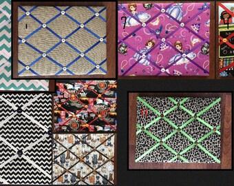Fabric Memory Board Clearance 11x14/ Fabric Bulletin Board/Fabric Memor Board/Pin Board