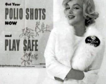 Marilyn Monroe...Jacket with detachable fur collar...Available soon