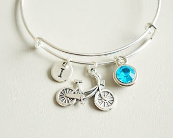 Bicycle jewelry, Bicycle Gift, Bicycle Charm, Gifts for Cyclists, Bicycle bracelet, Bicycle bangle bracelet, Cycle Charm, Cycle, Bike, Tour