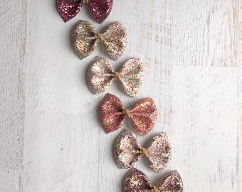Valentine's Day bows | baby bows | baby headbands | toddler bows | toddler headbands | girls hair clips | newborn bows | newborn headbands
