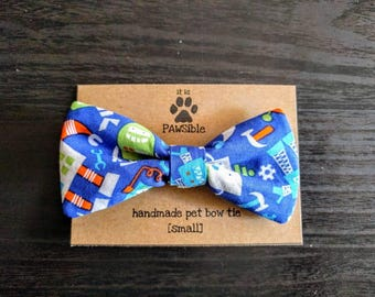 Everyday pet bow tie, robot bow tie, dog bow tie, cat bow tie -- [robots]