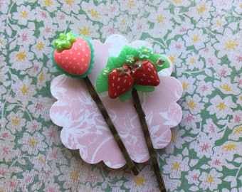 Strawberry Love Clippie Set
