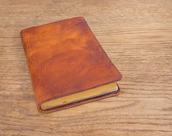 NLT Thinline, Full Grain Cowhide Leather Bible