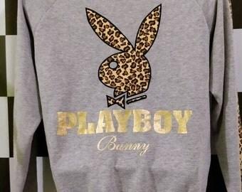 Vintage PLAYBOY Bunny Camo sweatshirt M