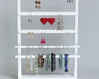 Earring Holder, Jewelry Display, Jewelry Organizer, Earring Display, Jewelry Holder, Jewelry Rack, Ring Holder, Bracelet Display, Earrings