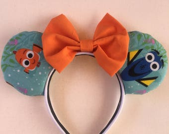 Finding nemo ears!