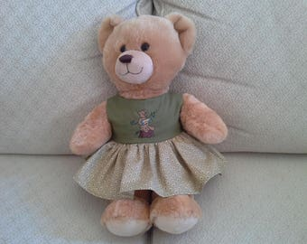 Build A Bear Embroidered Dress