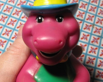 Vintage Barney and Friends Dancing Barney the Dinosaur Figure from Lyons Group