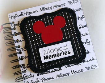 NEW Design Magical Memories Disney Autograph Book Scrapbook Travel Journal Vacation Photo Book bwrb3
