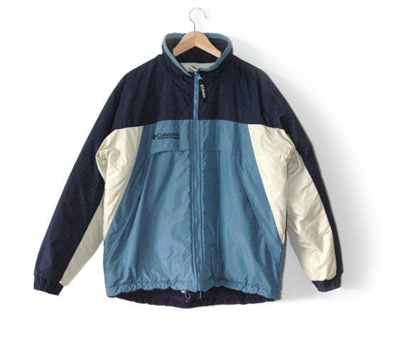 Columbia sportswear reversible jacket