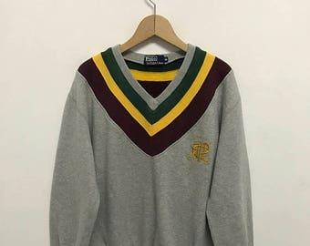 20% OFF Vintage Polo Ralph Lauren Sweatshirt/Ralph Lauren Shirt/Polo Sport/Polo Tennis/Polo Jumper