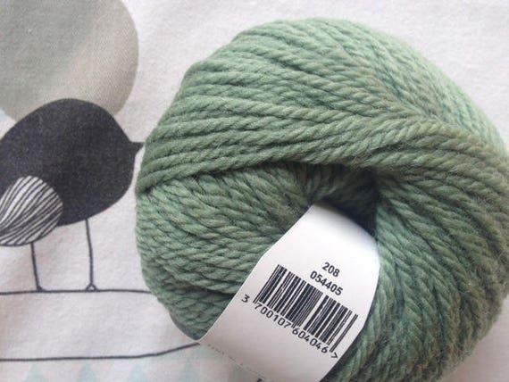 NUMBER 5 almond green - FONTY wool