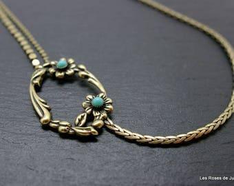 art deco Romance necklace, necklace