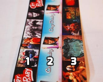 Choice of Johnny Depp Lanyard (Cry Baby Pirates of the Caribbean)